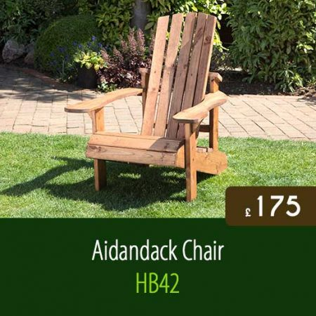 Aidandack Chair HB42. High Quality Outdoor Garden Furniture Delivered Nationwide