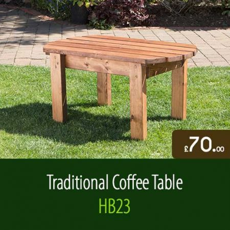 Traditional Coffee Table HB23. Traditional Outdoor Garden Furniture Accessories Staffordshire