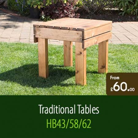Garden Tables HB43 HB58 HB62. Traditional Outdoor Garden Furniture Accessories Staffordshire