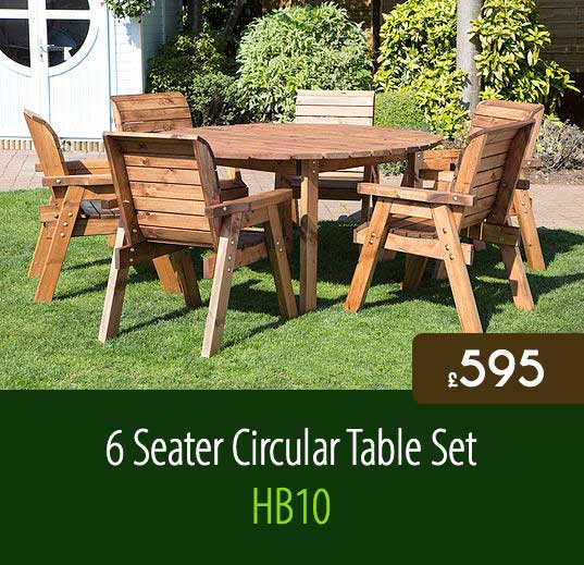 6 Seater Circular Table ...