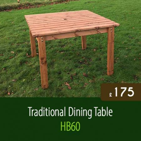 traditional dining table hb60 - Garden Furniture Traditional