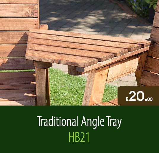 traditional angle tray hb21 - Garden Furniture Traditional